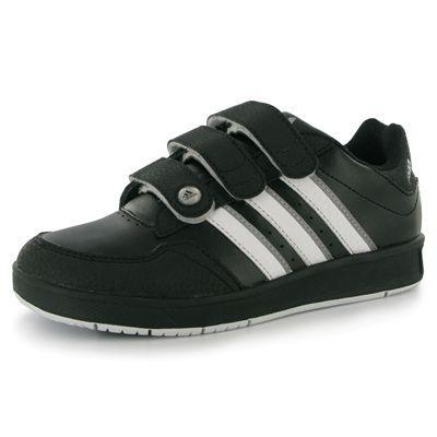 Dětské boty adidas Lk Trainer - Černé, Velikost: UK4 (euro 37)