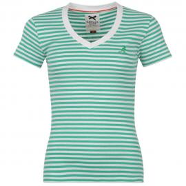 Dámské tričko Kangol - Zelené
