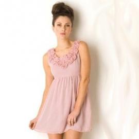 Dámské šaty Yumi- Světle růžové