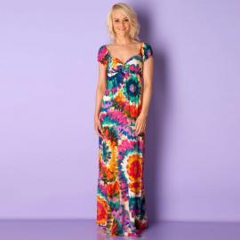Dámské šaty Mizumi - pestrobarvené