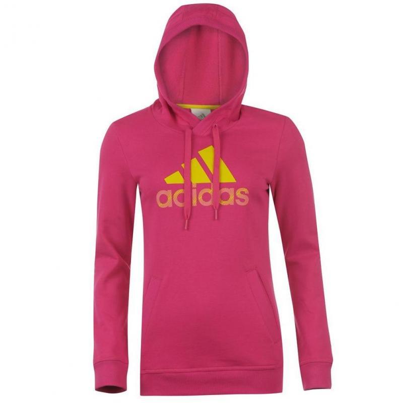 Dámská mikina Adidas - růžová