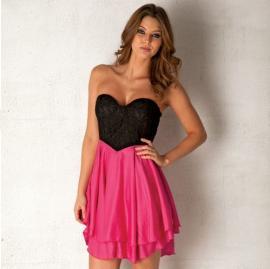 Dámské šaty Club L- Růžové