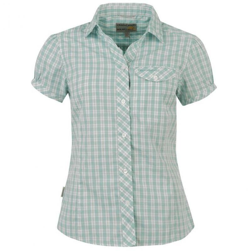 Košile Craghoppers - tyrkysová