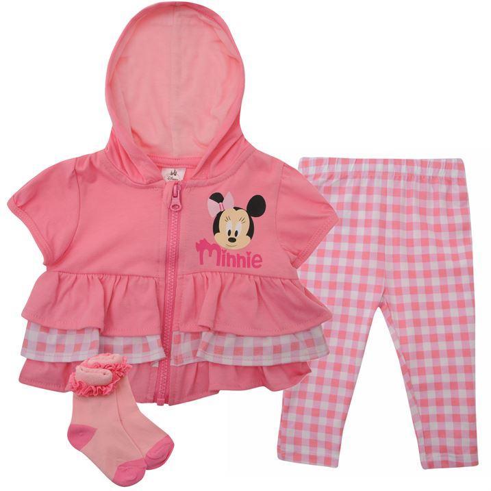 Dětská souprava Disney - Růžová (3 díly)