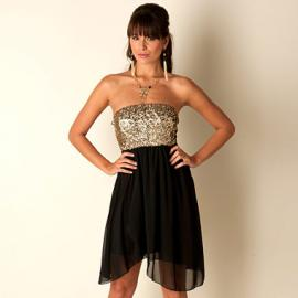 Dámské šaty Club L- Černé