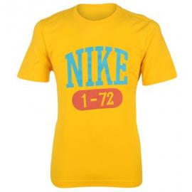 Pánské tričko Nike 72 - Žluté