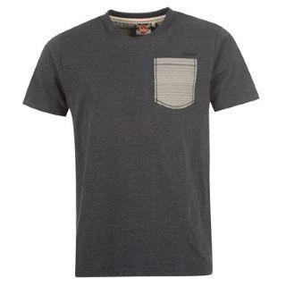 Pánské triko Lee Cooper Atec - Modré