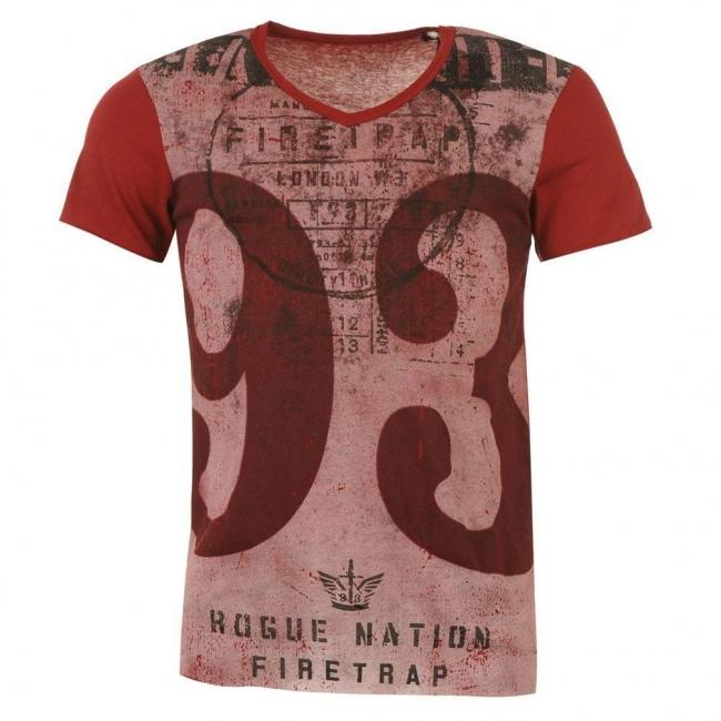 Pánské polo tričko Firetrap - Červené