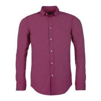 Pánská košile Calvin Klein - vínová