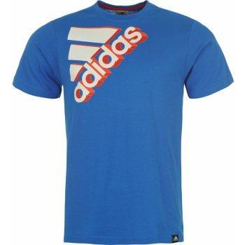 Pánské triko Adidas - Modré, Velikost: XL