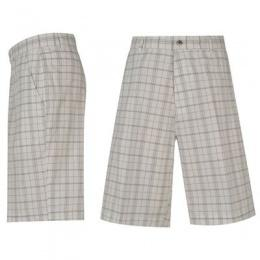 Pánské kraťasy Dunlop Fashion Shorts Mens - ¨White/Black