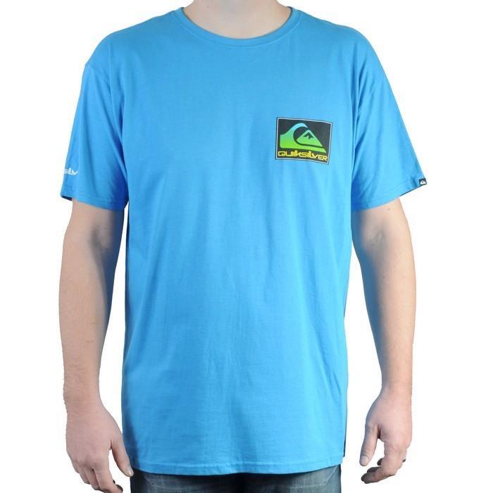 Pánské triko Quiksilver modrá