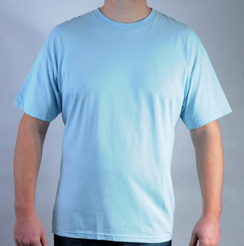 Pánské triko Quiksilver světle modrá, Velikost: XL