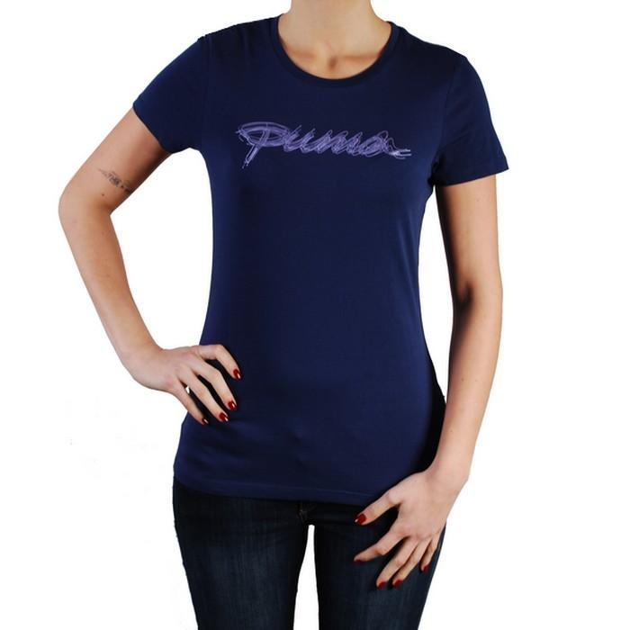 Dámské triko Puma modrá, Velikost: 12 (M)