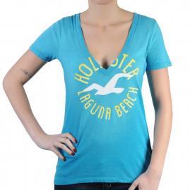 Dámské triko Hollister modrá