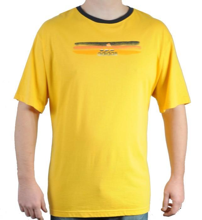 Pánské triko Adidas žlutá