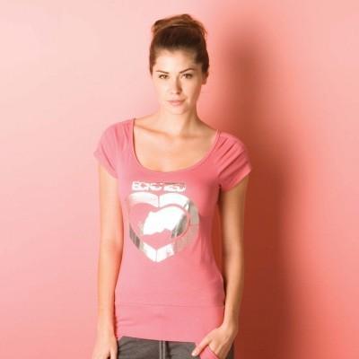 Dámské triko Ecko Red růžová