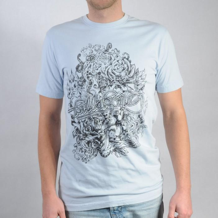 Pánské triko Billabong světle modrá