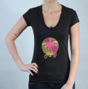 Dámské triko Roxy černá