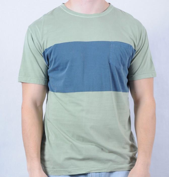 Pánské triko Quiksilver zelená, Velikost: M