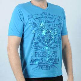 Pánské triko Pepe Jeans modrá