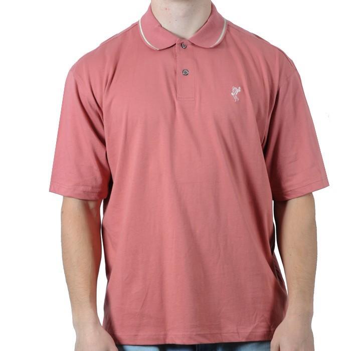 Pánské polo triko Ashworth růžová