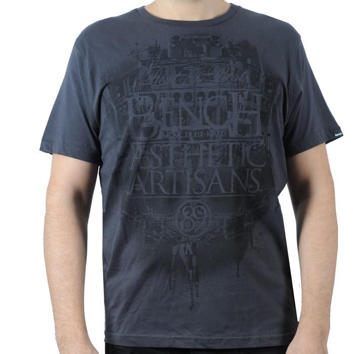 Pánské triko Bench černá