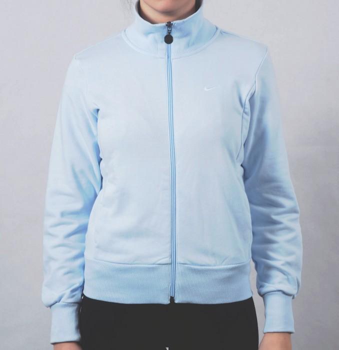 Dámská mikina Nike světle modrá