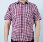 Pánská košile Pierre Cardin červená/bílá/modrá