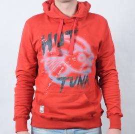 Pánská mikina Hot Tuna červená