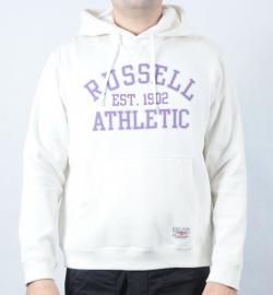Pánská mikina Russell Athletic béžová