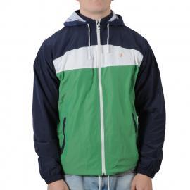 Pánská bunda Farah zelená/modrá/bílá