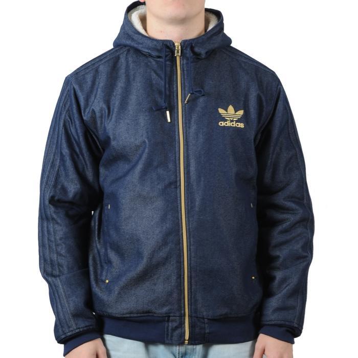 Pánská bunda Adidas modrá