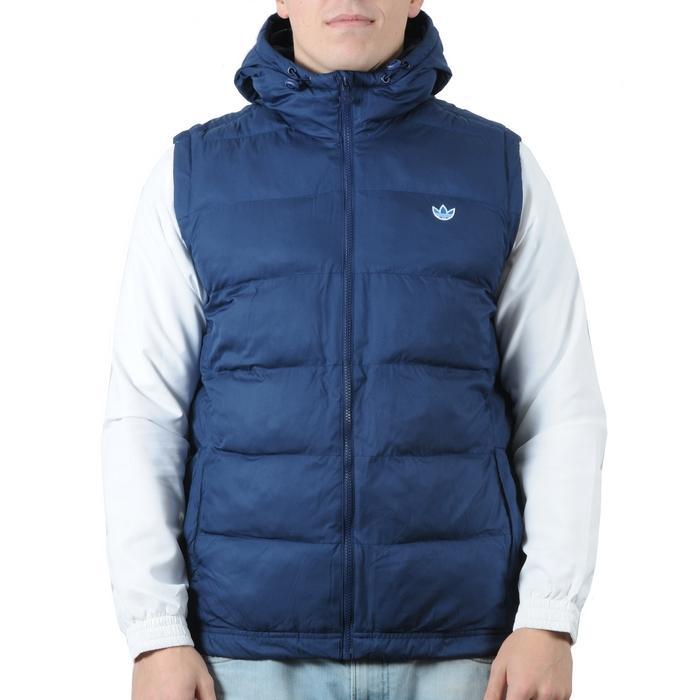 Pánská vesta Adidas tmavě modrá, Velikost: L