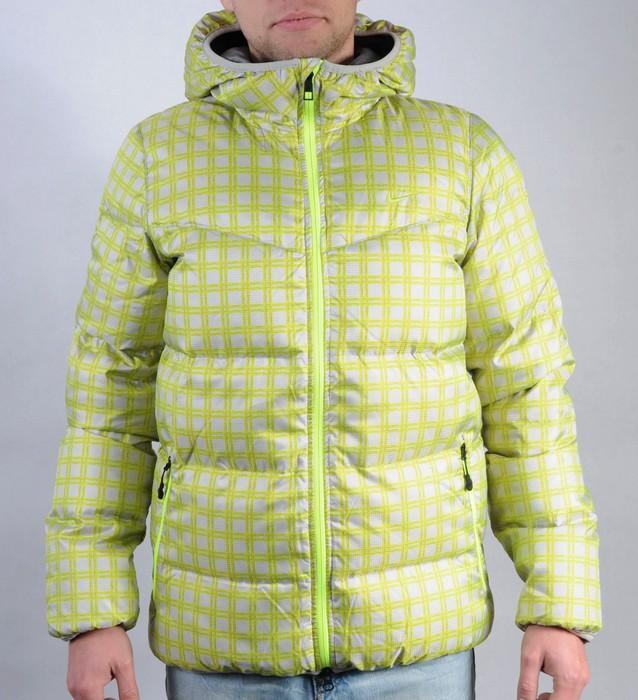 Pánská bunda Nike zelená/šedá, Velikost: S