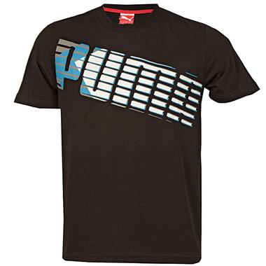 Pánské triko Puma - Černé, Velikost: M