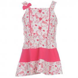 Dětské šaty Hello Kitty - růžové