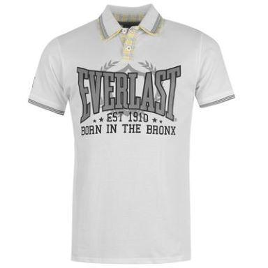 Pánské polo triko Everlast - Bílé