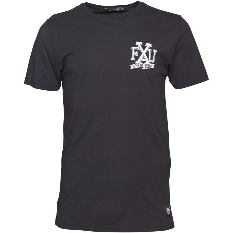 Pánské triko Friend Or Faux - Černé