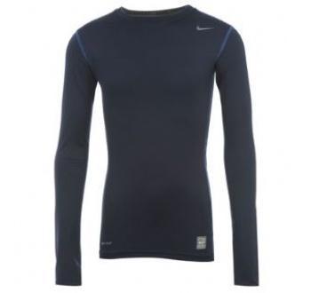 Dětské triko Nike- Tmavě modré, Velikost: 13-14 let (XLB)