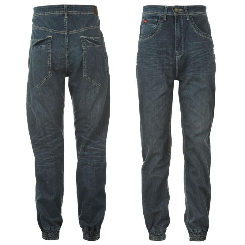 Pánské riflové kalhoty Lee Cooper- Modré