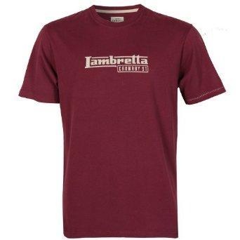 Pánské tričko Lambretta - červené