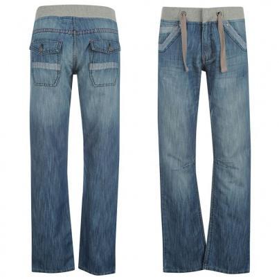Dámské kalhoty Voodoo Dolls- Modré