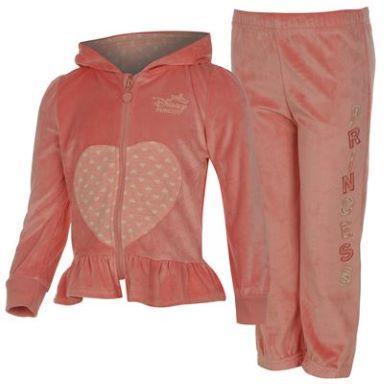Dětská tepláková souprava - růžová