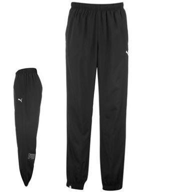 Dětské kalhoty Puma - černé