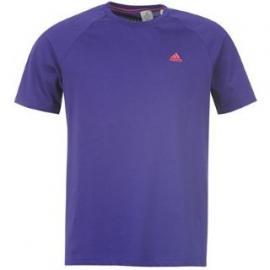 Pánské tričko Adidas - fialové