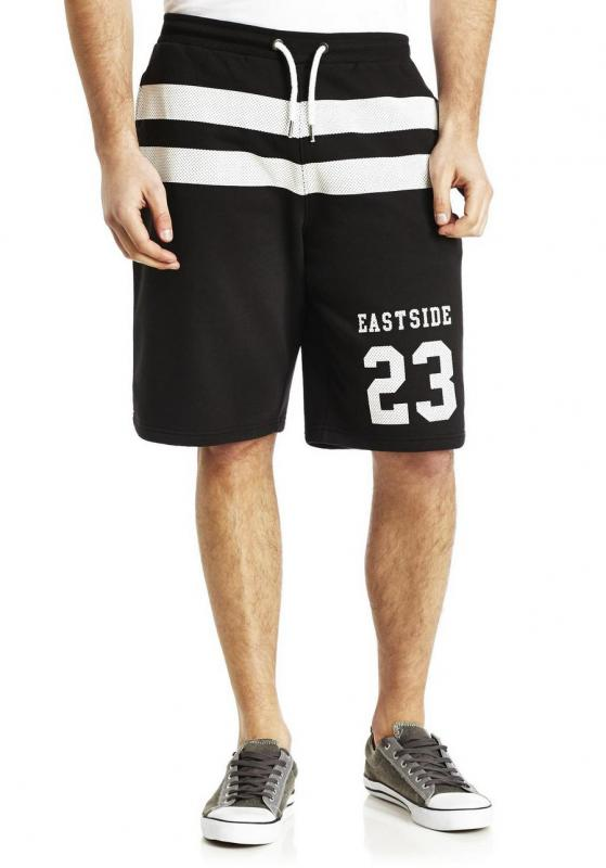 f&f varsity sweat short black