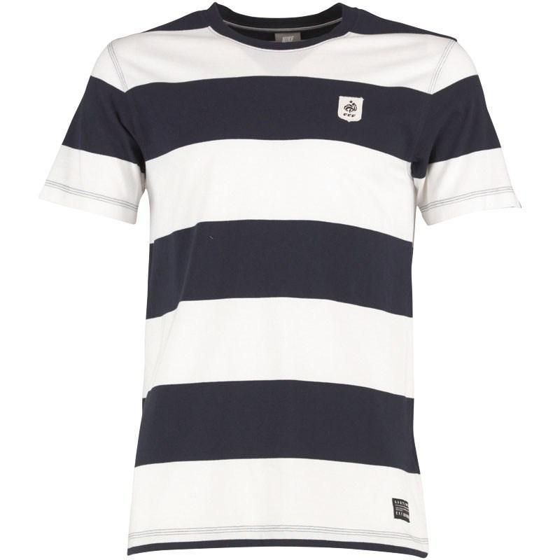 Pánské triko Nike -Modré/Bílé, Velikost: S