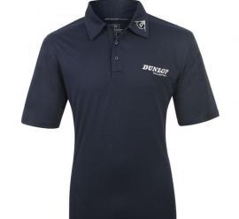 Pánské polo triko Dunlop - tmavě modré