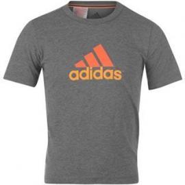 Dětské triko Adidas - Šedé